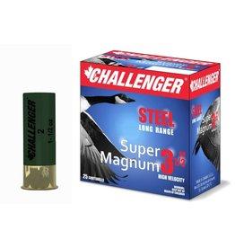 "Challenger 12GA Challenger 12 GA. 3.5"" SUPER MAG 1.1/2 OZ#2 STEEL SHOT  50202"