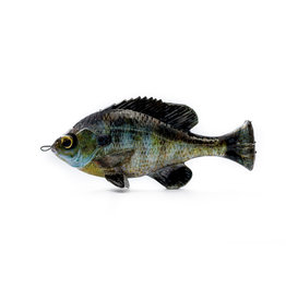 "Savage Gear Savage Gear - Pulse Tail Bluegill - 4"" Ghost Gill"