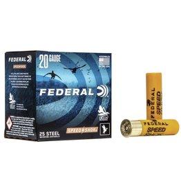 """Federal 20GA Federal SPEED-SHOK 3"""" 7/8 OZ. #2 HV STEEL AMMO  WF2092"""