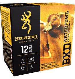 "Browning 12GA BROWNING 3"" 1.1/4 OZ.#4 WATERFOWL AMMO"