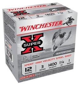 "Winchester 12GA Winchester Super X 3"" 1.25 OZ. #1 STEEL WEX123H1"