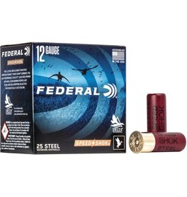 "Federal 12GA Federal SPEED-SHOK 3"" 1.1/4 OZ. #2 HV STEEL AMMO"