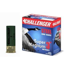 "Challenger 12GA Challenger 3"" SUPER MAG 1.25 OZ. #4 STEEL"
