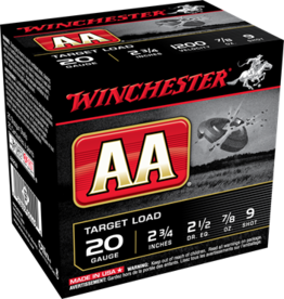"""Winchester Winchester AA 20GA 2 3/4"""" #9 TARGET LOAD"""