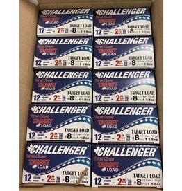 """Challenger 250 ROUNDS -  Challenger Target Load 12GA 2 3/4"""" 1 1/8oz #8 (Case)"""