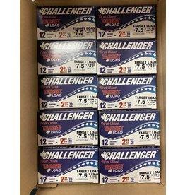 """Challenger 250 ROUNDS - Challenger Target Load 12GA 2 3/4"""" 1 1/8oz #7.5 (Case)"""