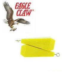 Eagle Claw 3/8oz Rubber 2Pk Eagle Claw 04020-001 Practice Plug