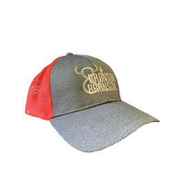 Bronson Bronson & Bronson Grey/Red Mesh Hat