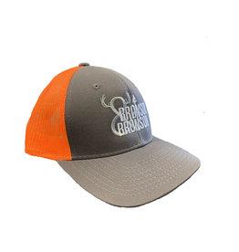 Bronson Bronson & Bronson Grey/Orange Mesh Hat