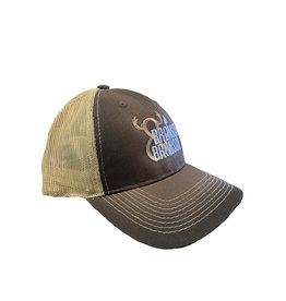 Bronson Bronson & Bronson Brown/Gold Mesh Hat