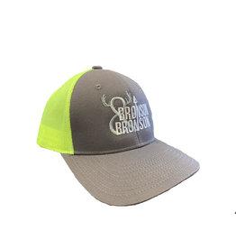 Bronson Bronson & Bronson Grey/Yellow Mesh Hat