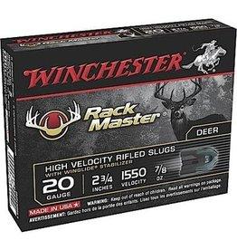 """Winchester Winchester S20SR1 Winchester S20SR1 Supr RackMaster 20 GA 2-3/4"""" 7/8oz Slug 5Rnd"""
