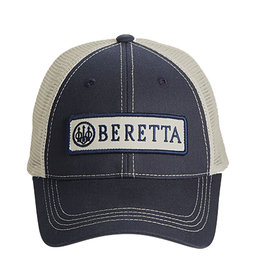 Beretta Beretta Patch Trucker Hat Navy with Mesh One Size