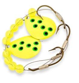 Lucky Strike Lucky Strike 701112-66 Crawler Harness Fl Yellow (5325701-66 884254)