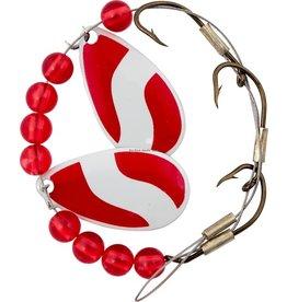 Lucky Strike Lucky Strike 701112-34 Crawler Harness Red/White (5325701-34 884239)