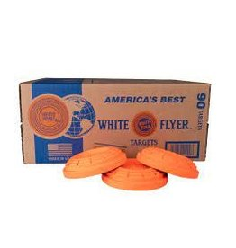 White Flyer White Flyer Clay Targets  90 Count (cannot ship)