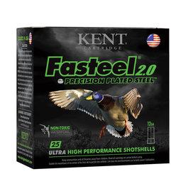 """Kent Cartridge 12GA Kent Fasteel 2.0 3"""", 1 1/4 oz 1500 fps #2"""