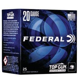 """Federal Federal Top Gun 20GA 2 3/4"""" 1250fps 7/8oz #8 Target Load 25ct"""