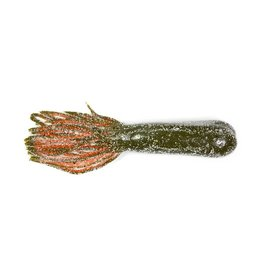 "Lunkerhunt Lunkerhunt Spicy Revealer Tubes 4.25"" Crawfish"