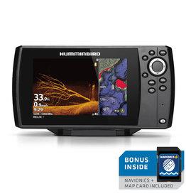 humminbird Humminbird 410940-1MNAV Helix 7 Chirp MDI GPS G3 w/ Navionics Card