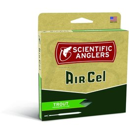 Scientific Anglers Scientific Anglers 112741 AirCel WF-5-6-F Trout Fly Line Weight Forward Green