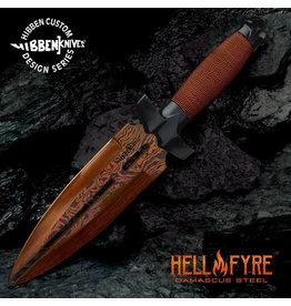 Gil Hibben Gil Hibben's Hellfyre Double Shadow Knife GH0453RD