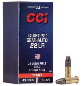CCI CCI 22LR Quiet Semi Auto 45gr Lead Round Nose 835fps