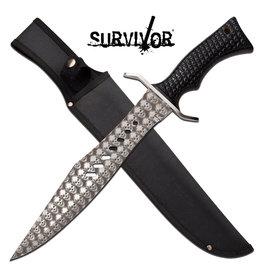 Survivor Survivor Fixed Blade Knife - SV-F1X011BK