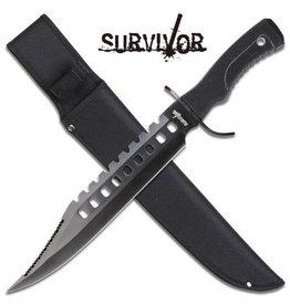 "Survivor SURVIVOR HK-2232B FIXED BLADE KNIFE 17"" OVERALL"