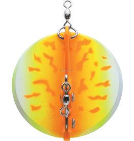 """13 Fishing Luhr Jensen 5560-030-1611 Dipsy Diver 2-1/4"""" 20' Orange Fire UV"""