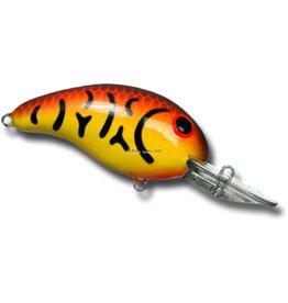 """BANDIT Bandit BDT326 300 Series Crankbait, 2"""", 3/8 oz, Spring Crawfish/Yellow, Floating"""