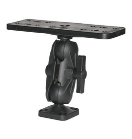 """Scotty Scotty 0163 1.5"""" Ball Mounting System w/Large FishFinder Mount Post & Side/Deck Mount"""