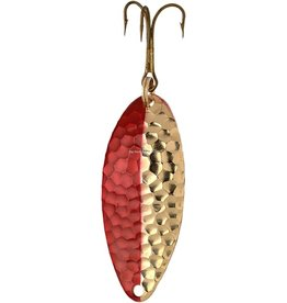 """Lucky Strike Lucky Strike 138250-162 Humper Lure- 2.5"""", 3/4oz, Hammered Gold/Red (5325550-162)"""