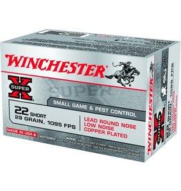 Winchester Winchester Super X 22 SHORT 29gr 1095fps