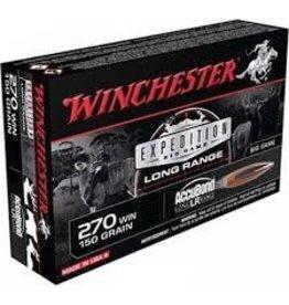 Winchester WINCHESTER 270 WIN 150GR ACCUBOND LR AMMO
