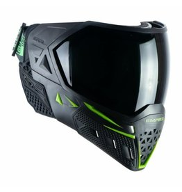 Empire Empire EVS Mask - Black / Lime Green - W/ Thermal Clear & Ninja Lens