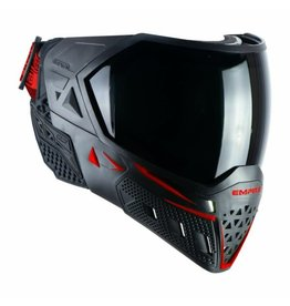 Empire Empire EVS Mask - Black / Red - W/ Thermal Clear & Ninja Lens