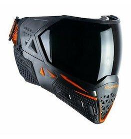 Empire Empire EVS Mask - Black / Orange - W/ Thermal Clear & Ninja Lens