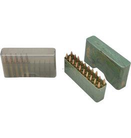 MTM MTM J-20-M-41 Slip-Top Ammo Box 20 Round 22-250 243 Win 7.62x39, Clear-Smoke