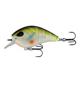 """13 Fishing 13 Fishing FD65-6-8 Flatty Daddy - Flat Sided Crankbait - 2.5"""" - 1/2oz - Dream Gill"""