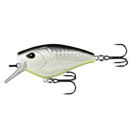 """13 Fishing 13 Fishing W60-4-38 Warthog - Squarebill - 2.3"""" - 1/2oz - Neon Disco Shad"""