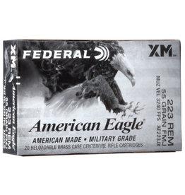 American Eagle Federal American Eagle 223 REM 55gr FMJ 3240fps AE223JX