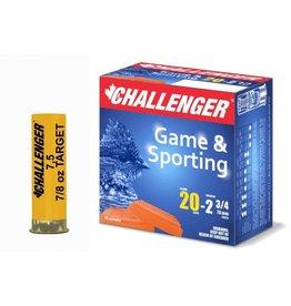 "Challenger Challenger 20GA 2.75"" #7.5 Target Load 25ct"