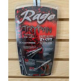 Rage Rage TRYPAN 2-Blade 100 grain Titanium Tough (Compound))