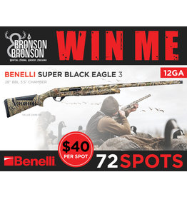 Draw #188- Benelli Super Black Eagle III