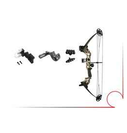 Vulcan DX compound bow 15-45lbs 21 to 27 draw( right)