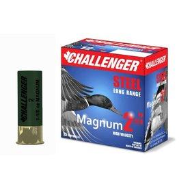 "Challenger CHALLENGER 12 GA 2.75"" MAG #2 STEEL 1 1/8OZ"