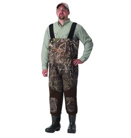 Caddis Wading Systems Caddis Wading Systems WFW13901W-12 3.5mm Max5 NeoBreathable Hybrid Chest Waders 1000Gr Boot Sz12