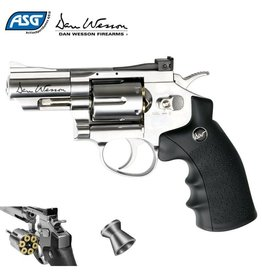 "Dan Wesson Dan Wesson 2.5"" CO2 Pellet Revolver .177"