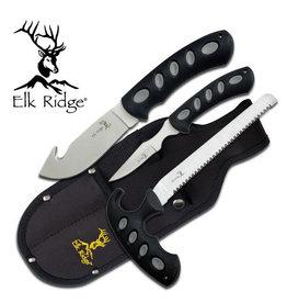 Elk Ridge Elk Ridge ER-252 HUNTING KNIFE SET 3 PIECE SET